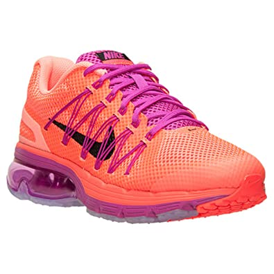 Nike Womens Air Max Excellerate 3 Hot Lava/Black/Fuchsia Flash Running Shoes  (