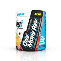 BPI Sports One More Rep Pre Workout Powder Energy Drink with Beetroot for Muscle Pump, Fruit Punch, 25 Servings, 8.8 Ounce