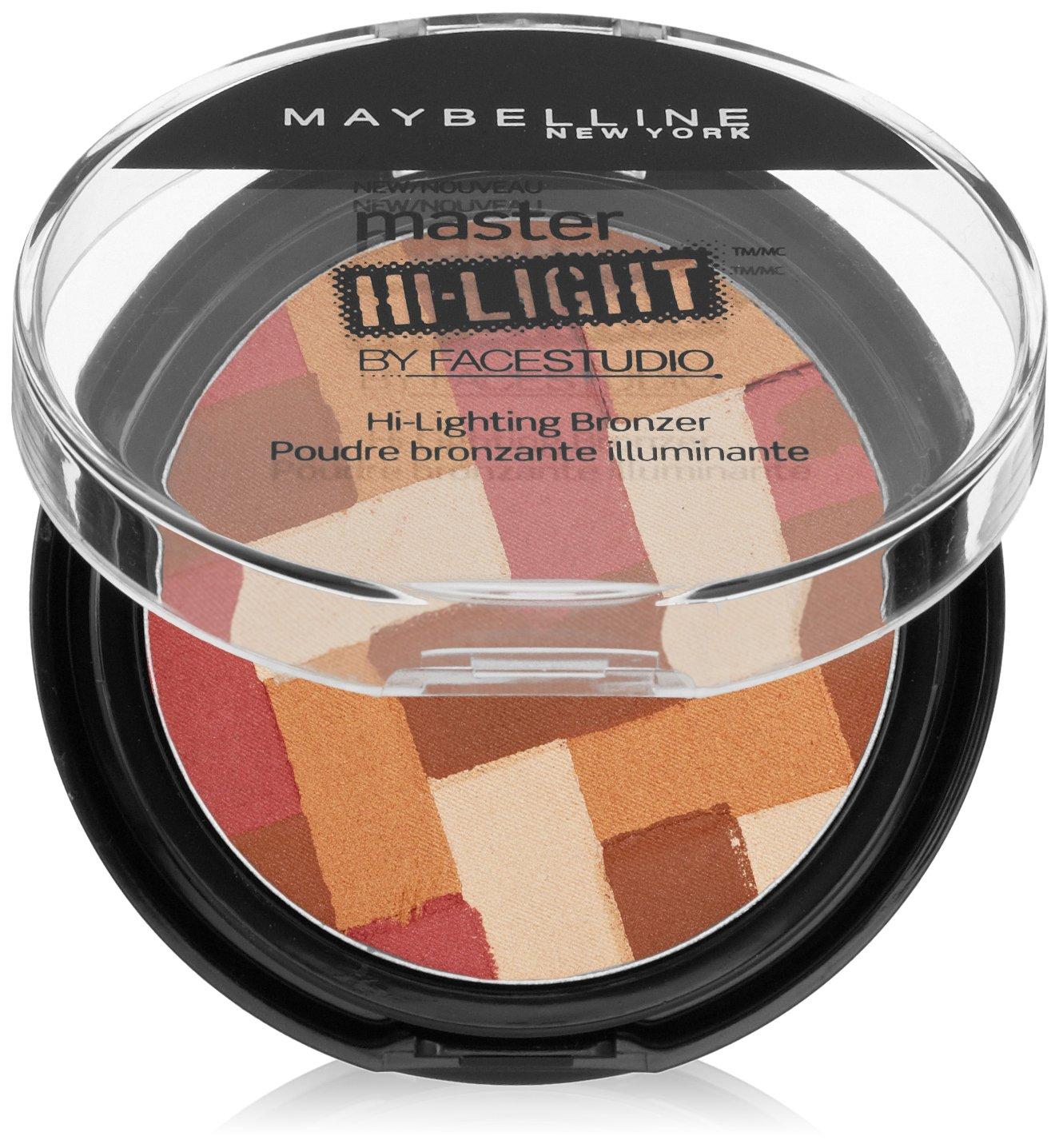 Maybelline New York Face Studio Master Hi-Light Bronzer, Light Bronze, 0.31 Ounce 409444/48-3/43-1