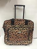 "16"" computer / laptop bag rolling shoulder travel case carryon wheel"