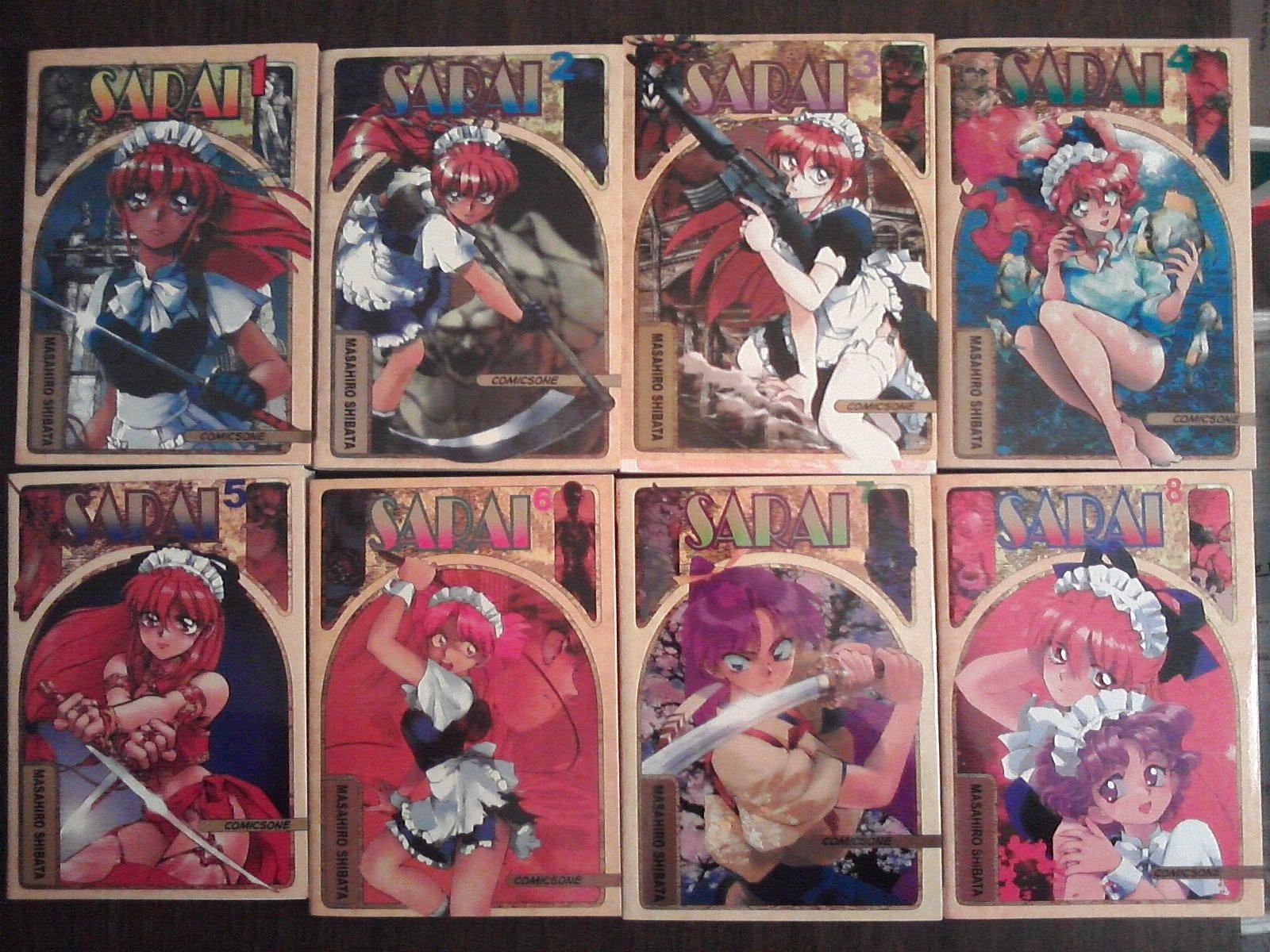 Read Online Sarai (Manga Series) Complete Set (Volumes 1-8) pdf epub