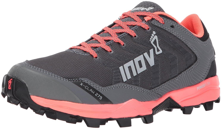 Inov-8 Women's X-Claw 275 (W) Trail Running Shoe B01N1PT3RE 10 M US|Grey/Coral