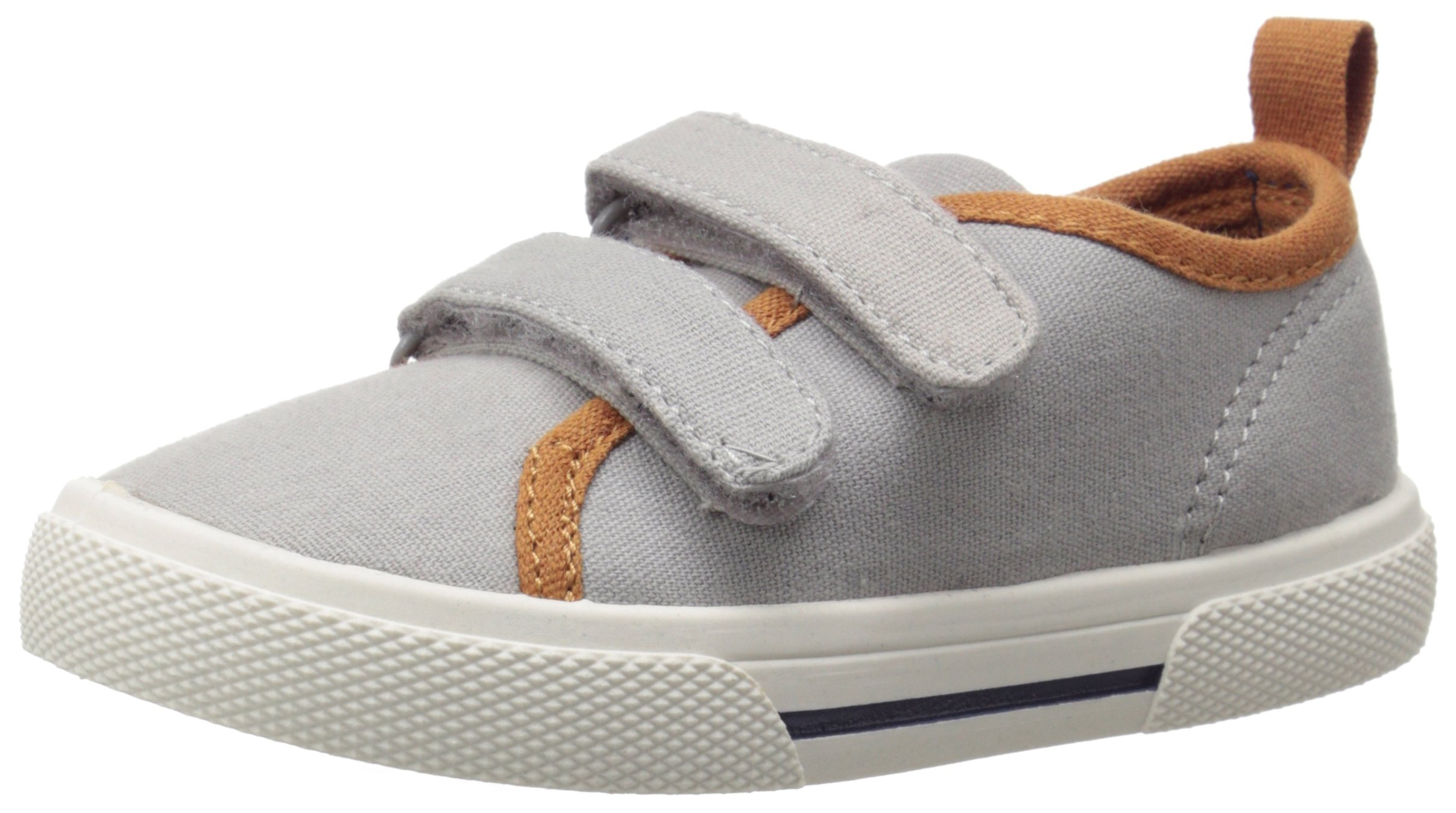 Carter's Skid2 Sneaker (Toddler/Little Kid), Grey, 12 M US Little Kid