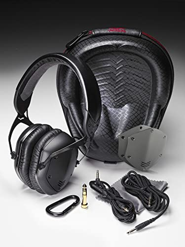 V-MODA Crossfade LP2 Vocal Limited Edition Over-Ear Noise-Isolating Metal Headphone – Matte Black