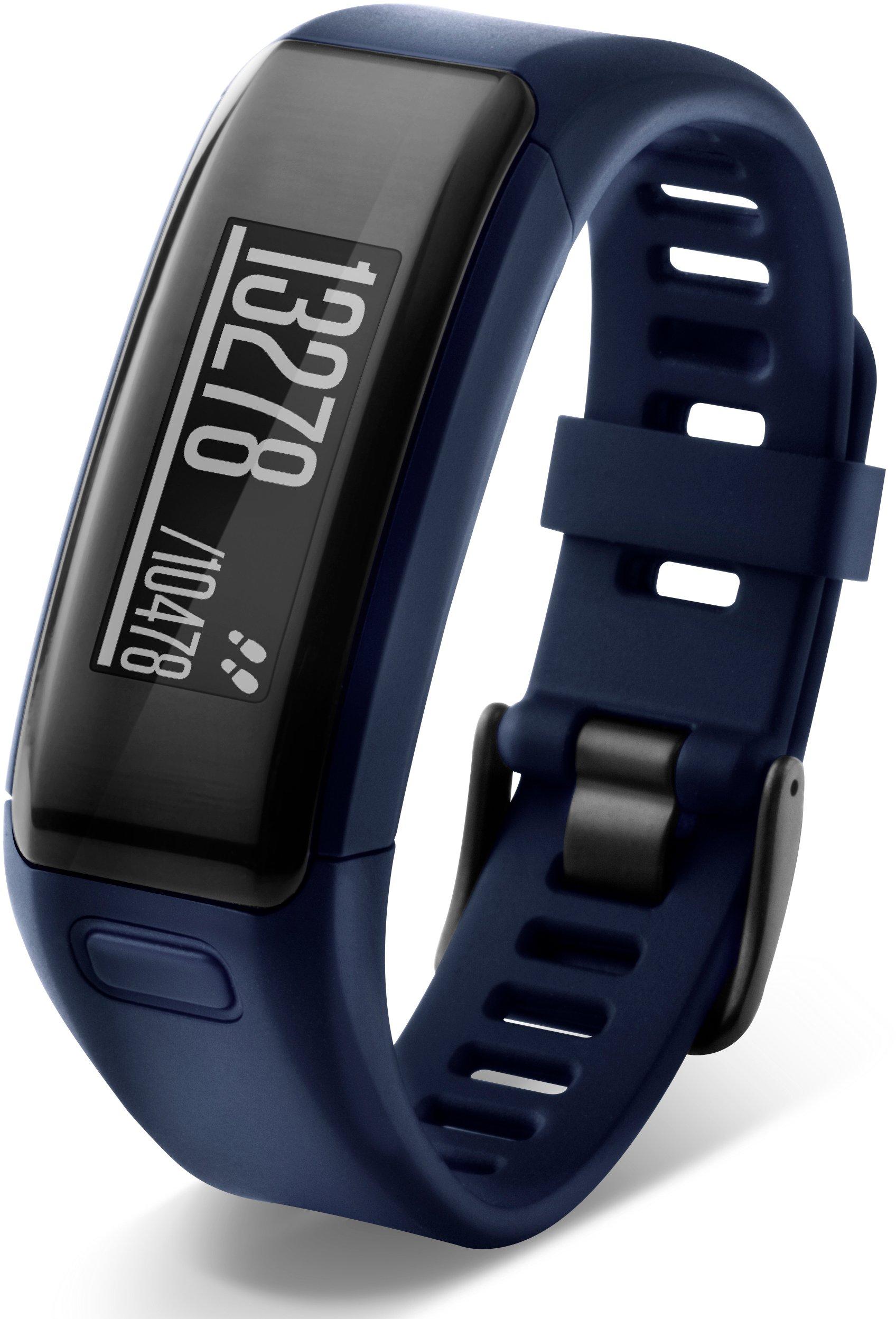 Garmin vívosmart HR Activity Tracker Regular Fit - Midnight Blue (Deep Blue) by Garmin (Image #3)