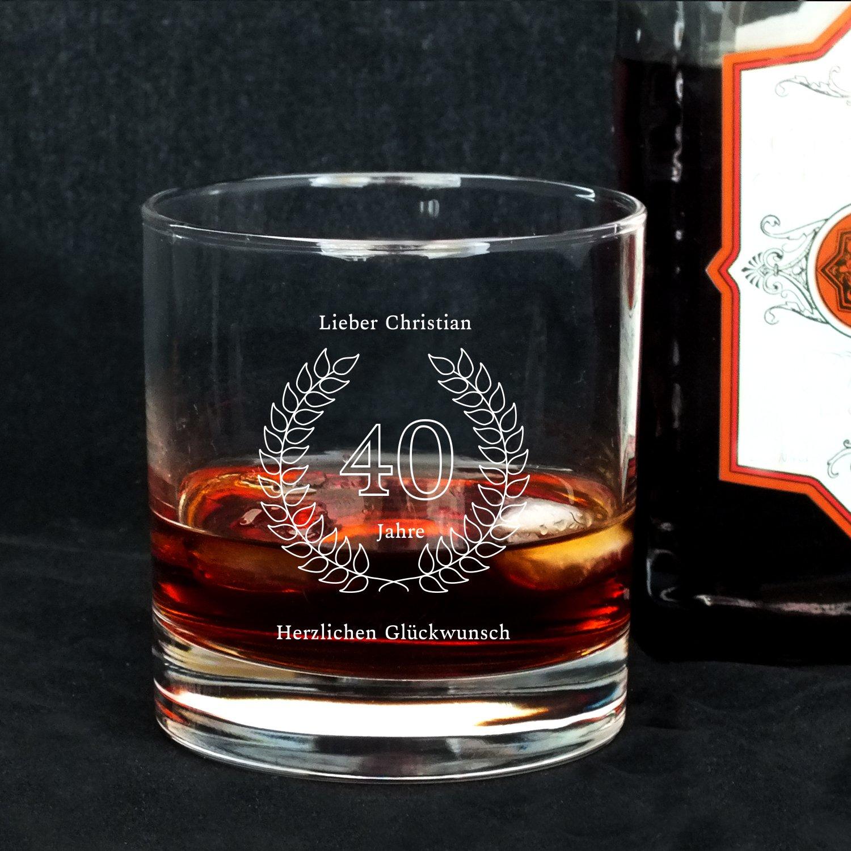 Geschenke De Personalisierbares Whisky Glas Mit Gravur Namen