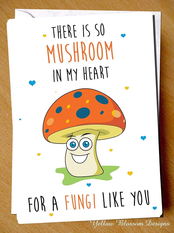 so mushroom in my heart fungi like you dad daddy pops father funny
