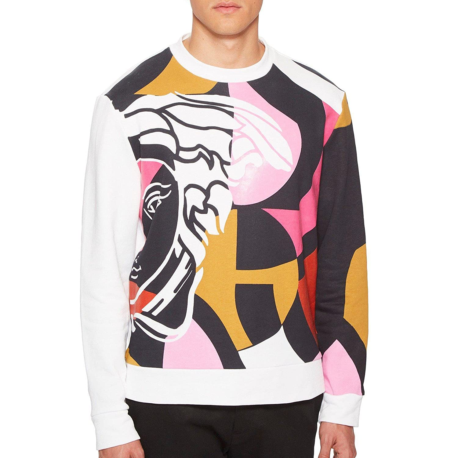324a38a8 Amazon.com: Versace Collection Abstract Medusa Multi Printed ...