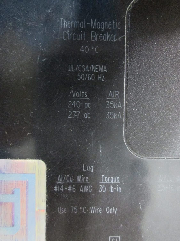 New Square D Egb14020 Circuit Breaker 1 Pole 20a 277v 35ka Egb Remote Controlled 20 Amp Series