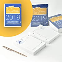 Bloc Taco Calendario de sobremesa o escritorio año 2019 650 páginas - Fin de semana / 1 Página