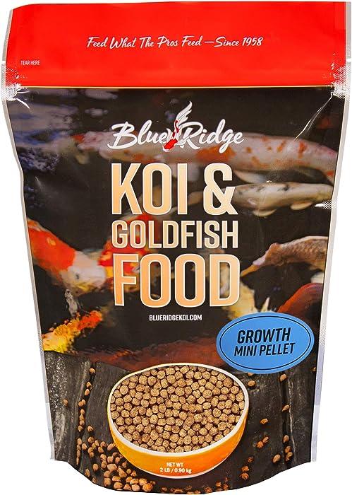 The Best 2 Lbs Mini Pellets Fish Food