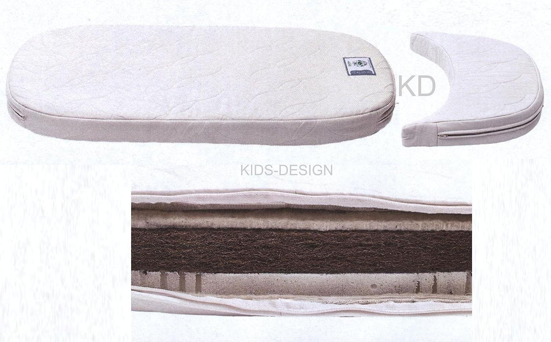 Leander de matelas en latex de fibre de coco pour le Leander Lit pour b/éb/é et enfant Lit ovale Junior /élargissement