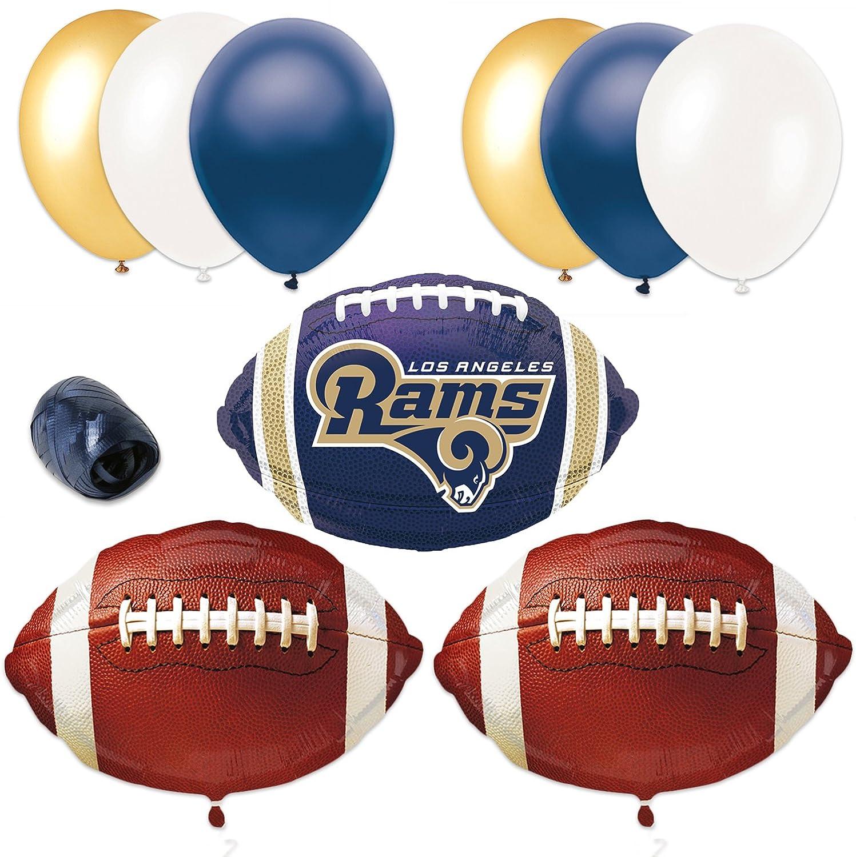Amazon.com: Los Angeles RAM fútbol decoración de fiesta ...