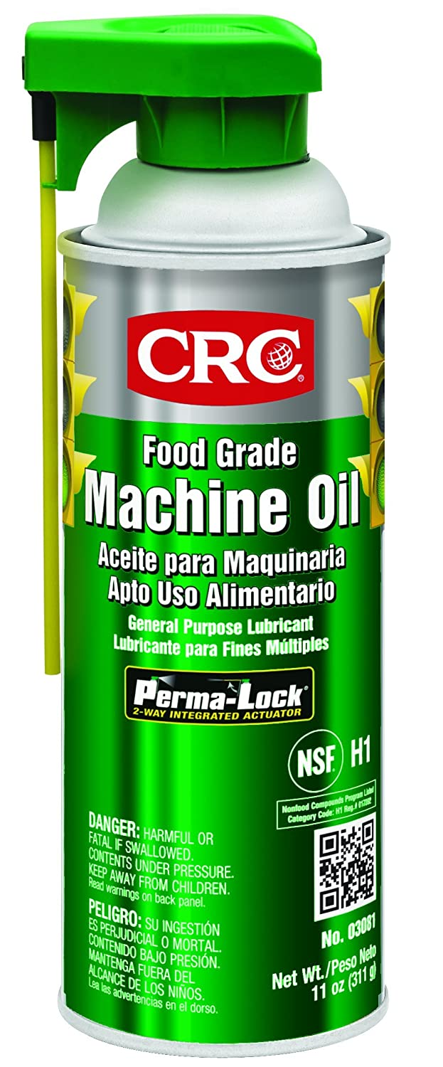 CRC Food Grade Machine Oil, 11 Wt Oz, (Pack of 12), 03081CS