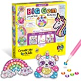 Creativity for Kids Big Gem Diamond Painting Kit - Create Your Own Magical Stickers and Suncatchers - Diamond Art for…