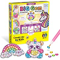 Creativity for Kids 6246000 Big Gem Diamond Painting Kit - Create Your Own Magical Stickers and Suncatchers - Diamond…