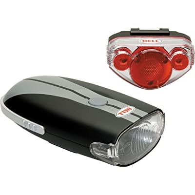 Bell Night Trail Bicycle Light Set : Bike Headlight Taillight Combinations : Sports & Outdoors