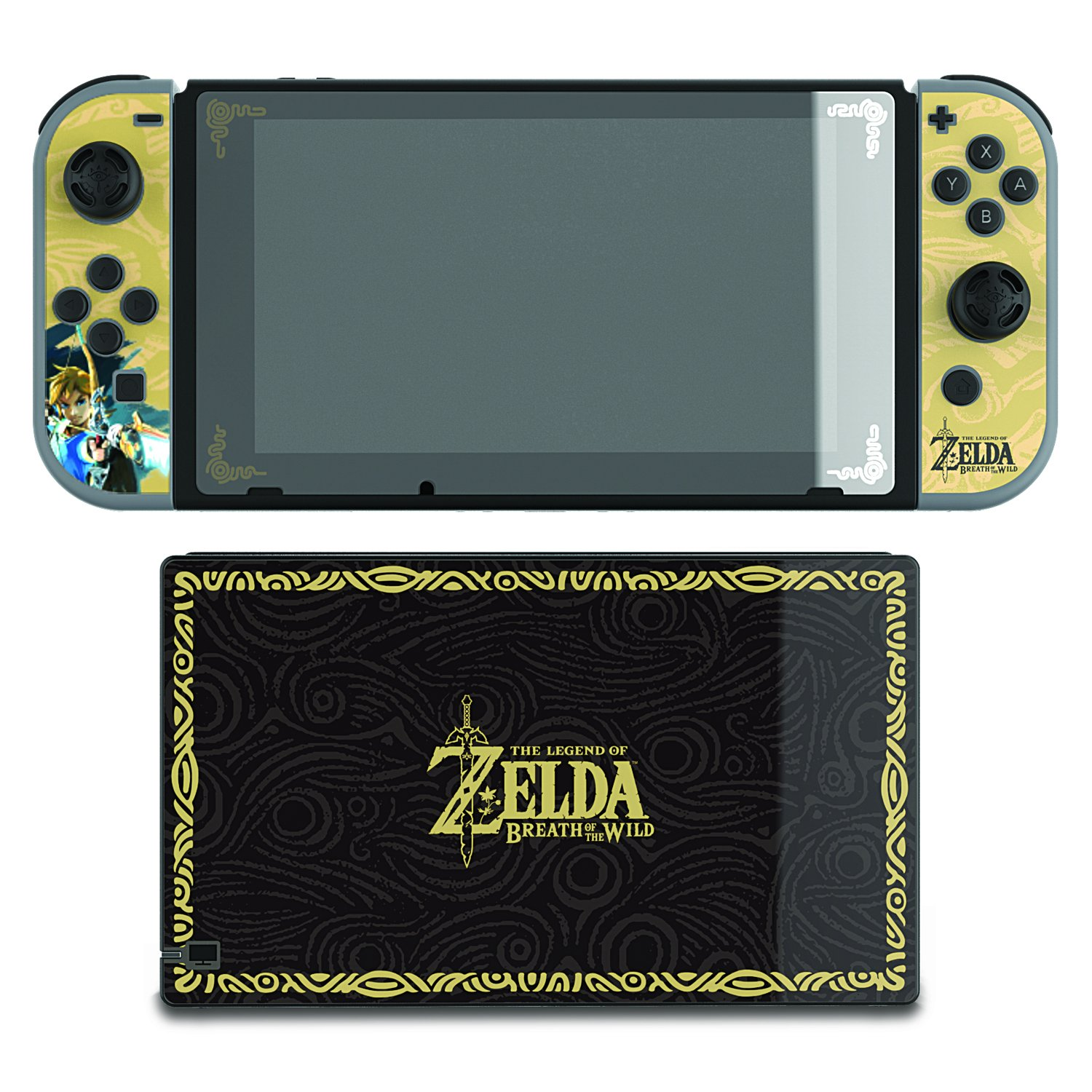 Pdp Nintendo Switch Zelda Collectors Edition Screen Protection Mesin Grey Skins 500 016 Eu Pc Video Games