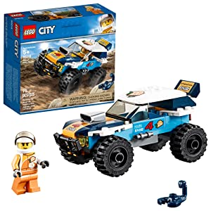 LEGO City Great Vehicles Desert Rally Racer 60218 Building Kit , New 2019 (75 Piece)