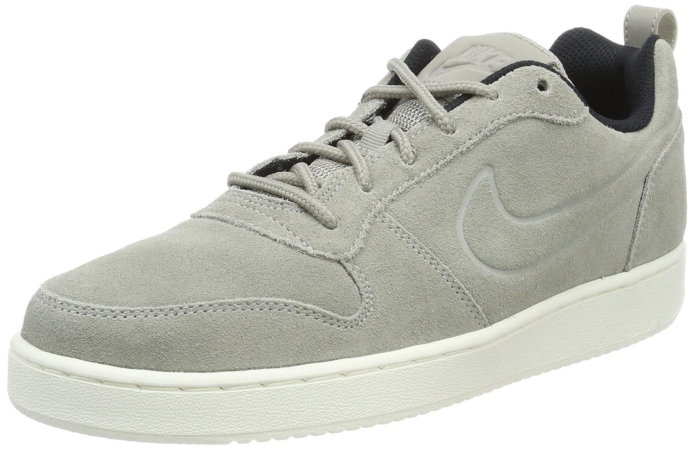 Nike Herren Court Borough Low Premium Sneaker  47 EU|Grau (Cobblestone/Black)