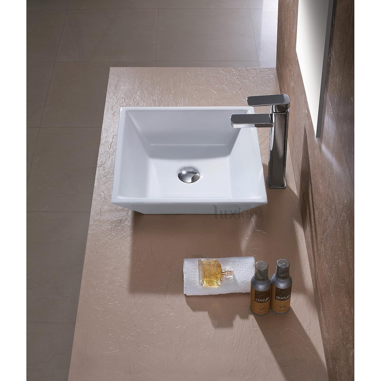 Luxier CS 006 Bathroom Porcelain Ceramic Vessel Vanity Sink Art