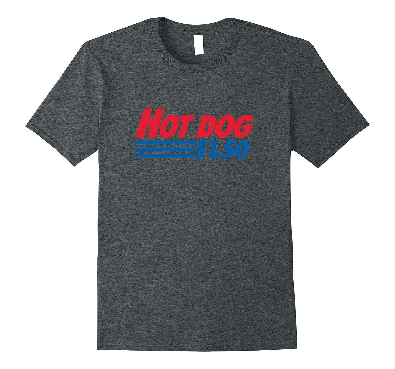 Mens The Best Cheapest Hot Dog T Shirt-TJ