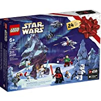 Lego Star Wars Advent Calendar 2020 Building Set, Fun Christmas Countdown Calendar with Star Wars Buildable Toys (311 Pieces)