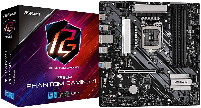 ASRock Z590 Phantom Gaming 4 Scheda madre Z590 LGA1200-Sockel ATX