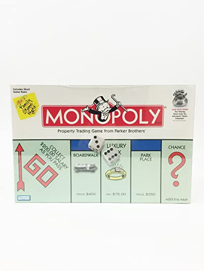 Monopoly 1999 Parker Brothers with Winning Money Token