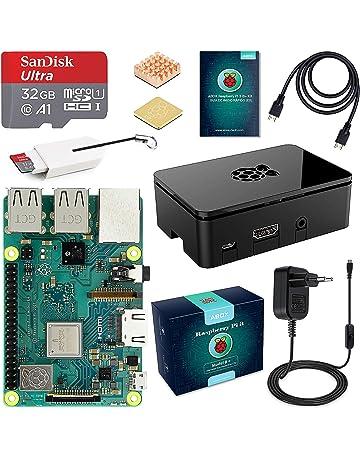 ABOX Raspberry Pi 3 B+ Starter Kit con Micro SD de 32GB Clase 10, 5V
