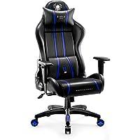 Diablo X-One 2.0 Silla Gaming Gamer Oficina Sillon de Ordenador Reposabrazos Ajustables Cuello/Cojín Lumbar Diseño…