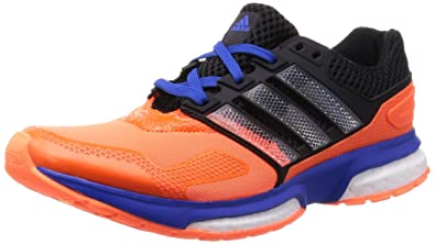 separation shoes 82a8c 98457 adidas Response Boost 2 Techfit, Men s Running, Orange (Solar Orange White