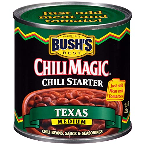 BUSH'S BEST Canned Texas Recipe Chili Magic Chili Beans Starter