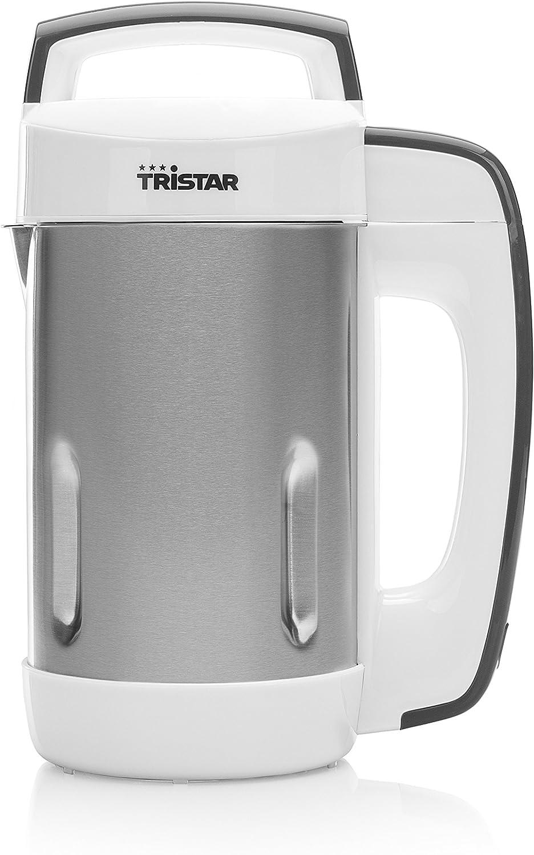 Tristar BL-4457 Licuadora de Sopa, 850 W, 1.1 litros, Acero ...