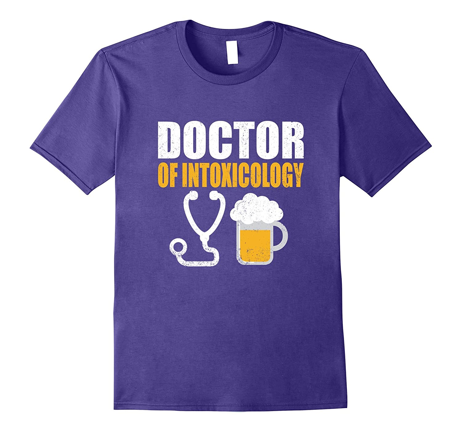 Doctor Of Intoxicology Funny Barman Drinking T Shirt-TJ