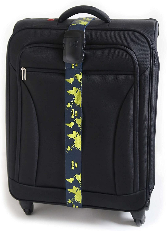ORB Travel Premium Designer Koffergurt//Kofferband//Gep/äckgurt//Gep/äckband-2m x 5cm /…
