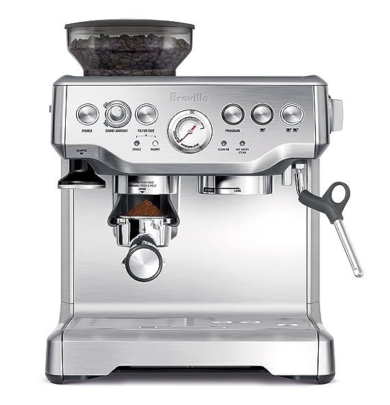 Review Breville BES870XL Barista Express Espresso Machine