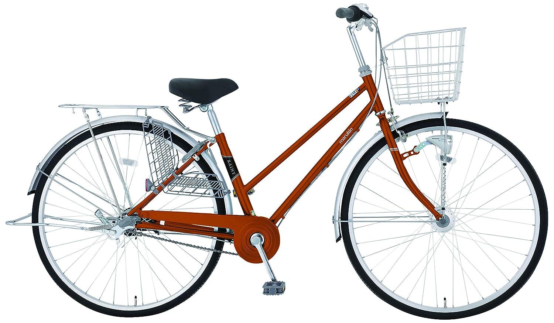 marukin(マルキン) 完全組立 27インチ自転車 LEDオートライト シマノ製内装3段ギア オレンジ MK-18-014 B07864XB18