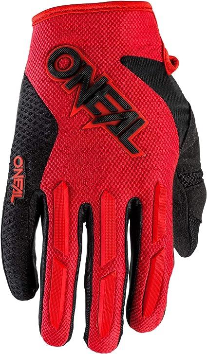 Oneal Element Glove Red Mx Motocross Protektoren Sport Freizeit