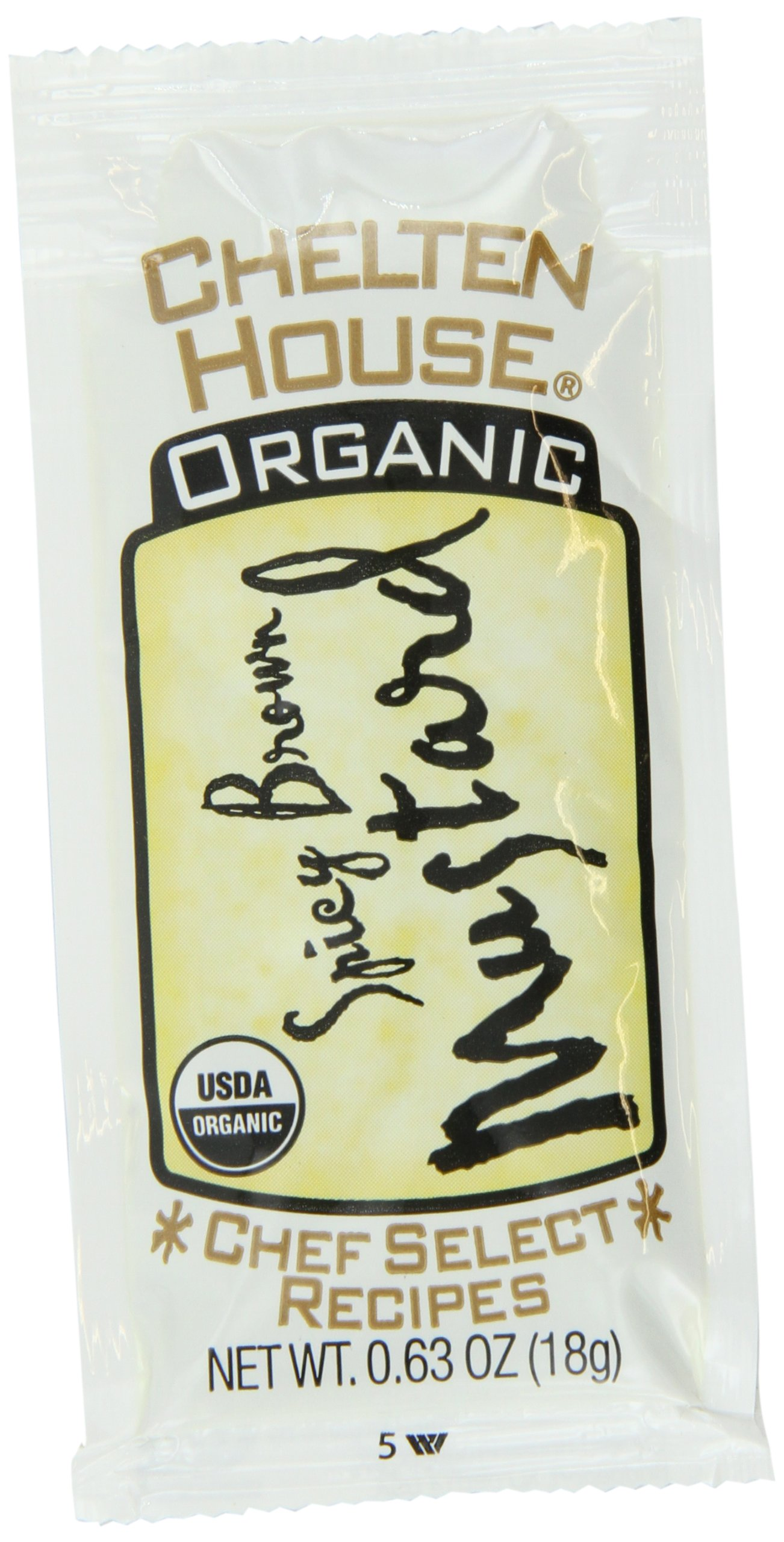 Chelten House Single Serve Portion Packs, Mustard, 0.63 Ounce (Pack of 250)