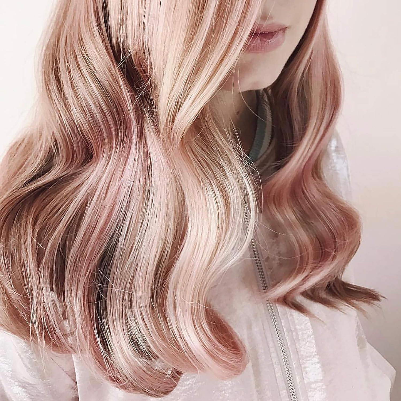 Kristin Ess Spray de tinte temporal de oro rosa, 7 onzas ...