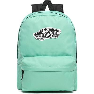 Vans Ss20 Realm Backpack, OS Negro Mochila, Mochila Real, VN0A3UI6YBM1, Verde, VN0A3UI6YBM1