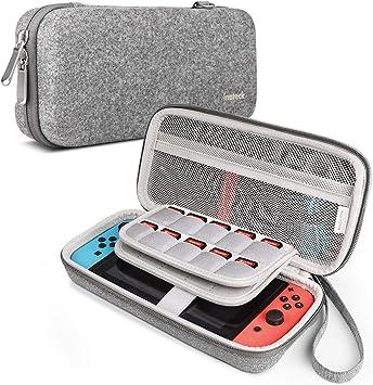 Inateck Funda para Nintendo Switch Consola, Joy-con, Accesorios ...