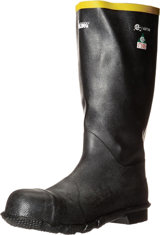 Black//Orange Viking Footwear Water Jet Waterproof Boot