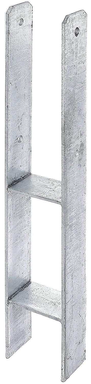 lichte Breite: 116 mm GAH-Alberts 203931 H-Pfostentr/äger Materialst/ärke: 5 mm feuerverzinkt Gesamth/öhe: 600 mm