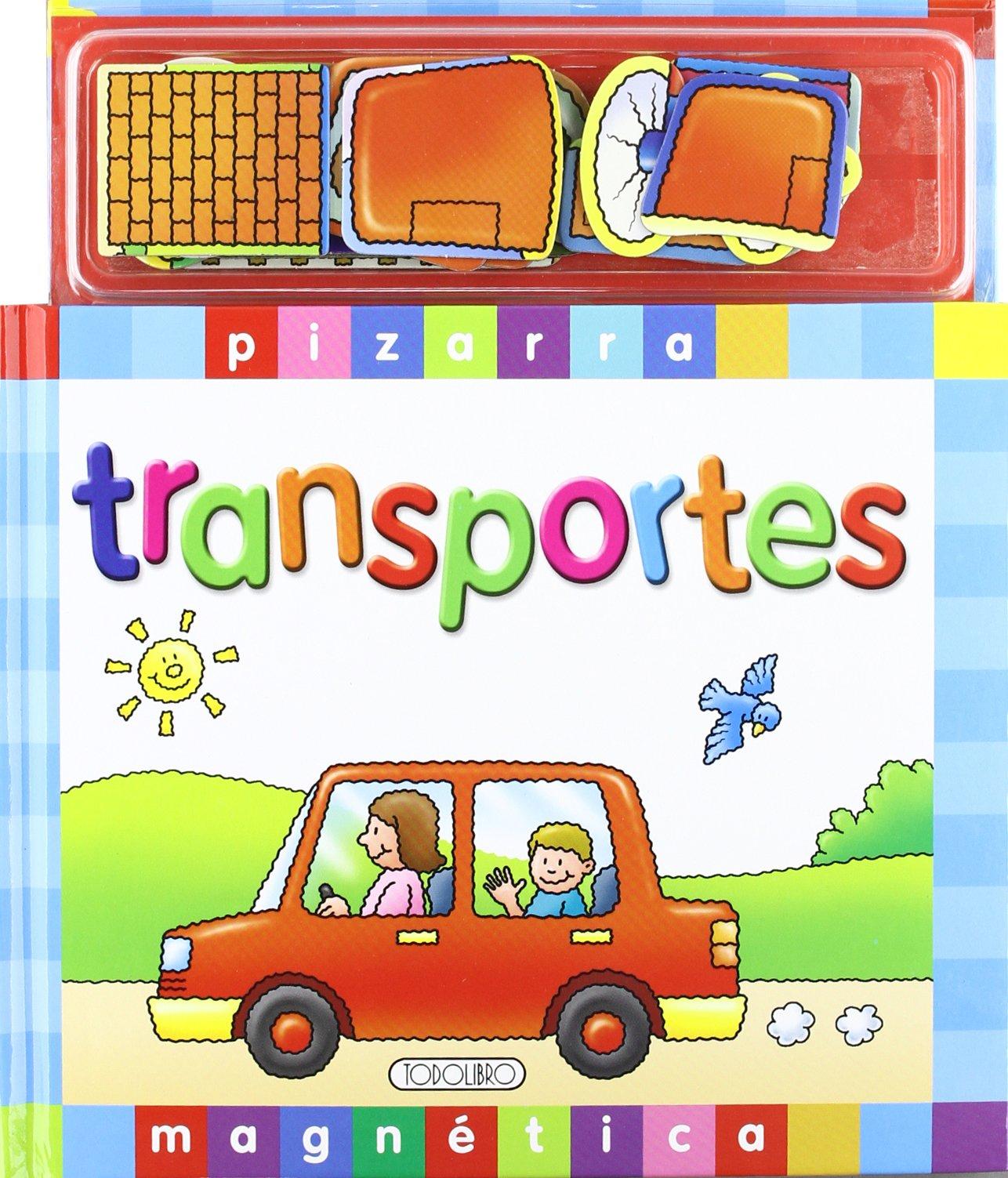 TRANSPORTES. PIZARRA MAGNETICA: VV.AA: 9788498063400: Amazon.com: Books