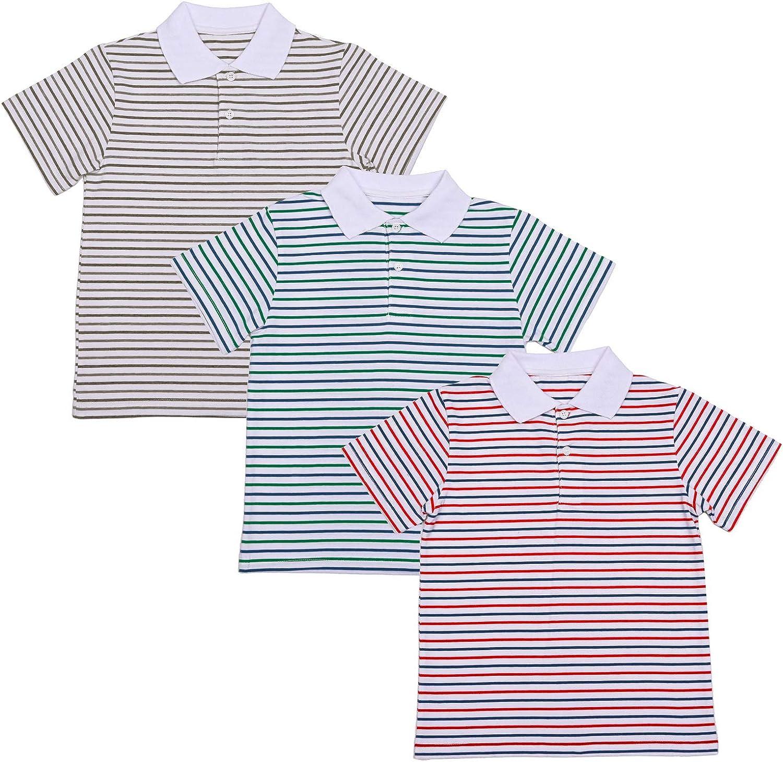 YouKD Enfants V/êtements d/ét/é pour Set T-Shirts en Coton Polos et Jeans Courts pour Gar/çons et Filles de 1 /à 16 Ans