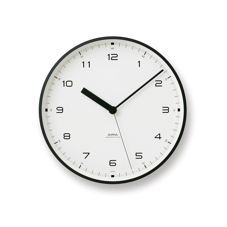 Lemnos Urban clock ブラック LC10-03 BK B003DZBMVUブラック