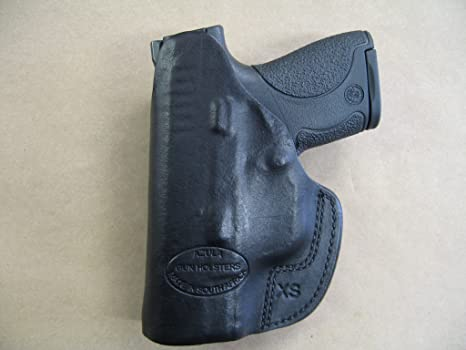Details about  /XTREME CARRY RH LH IWB Leather Gun Holster For Kel Tec PF9 w// Ct Laserguard