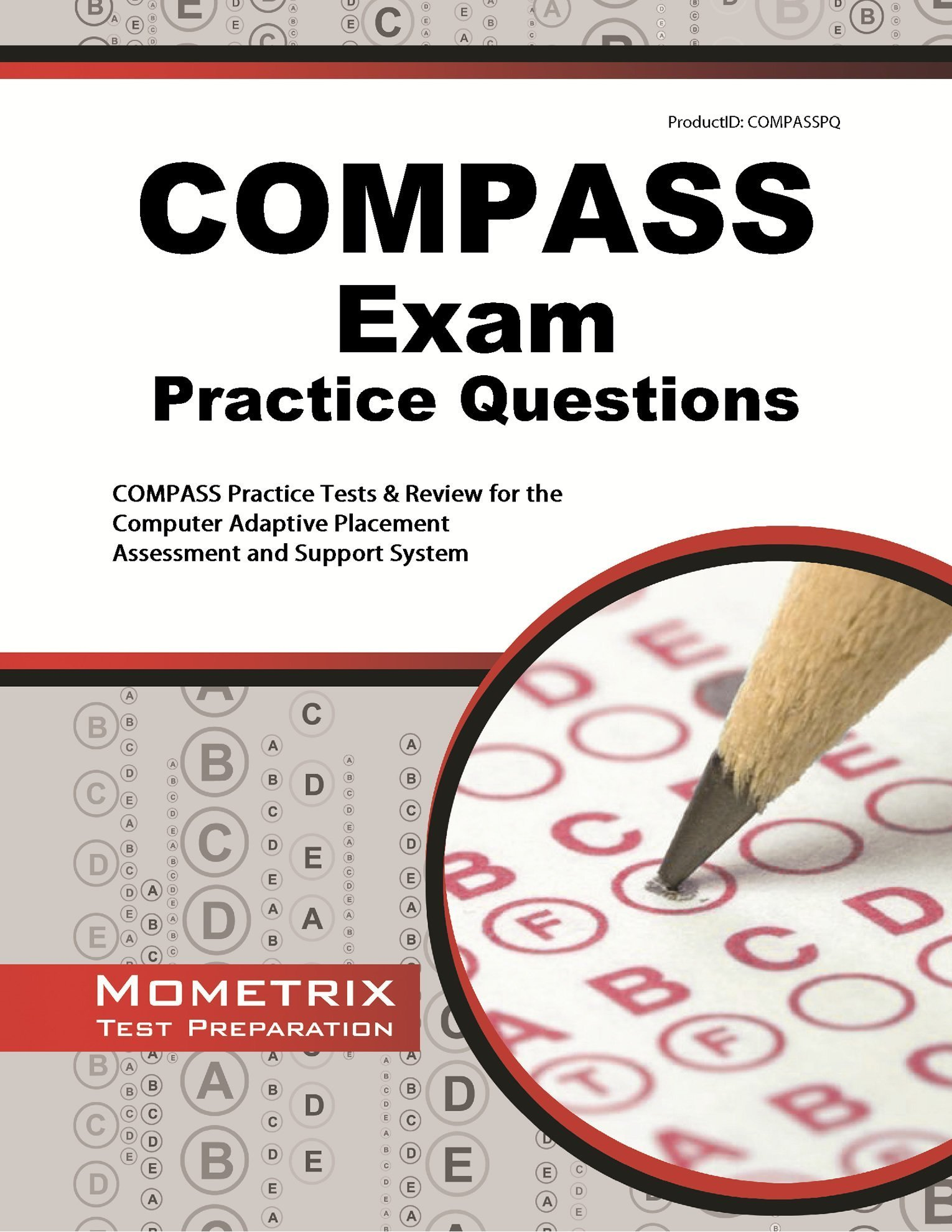 Download COMPASS Exam Practice Questions: Practice Tests & Review for the Computer Adaptive Placement Assessment and Support System PDF